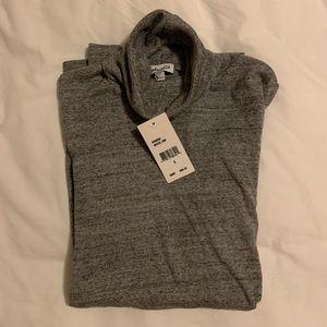 Splendid grey speckled brand new w tag turtleneck